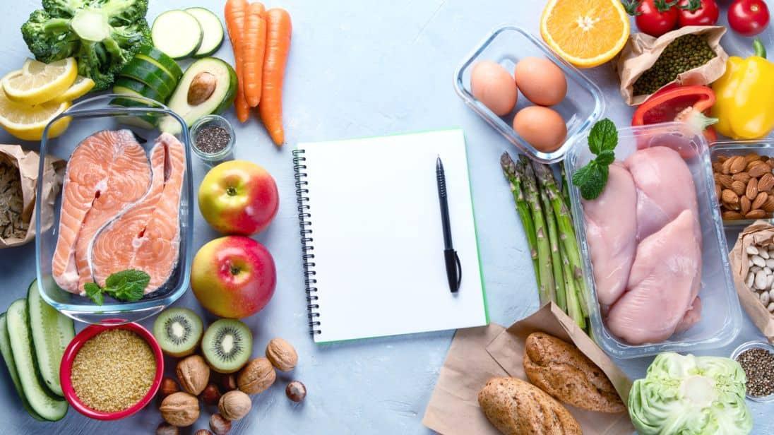 Menú semanal clásico para un plan nutricional completo y saludable